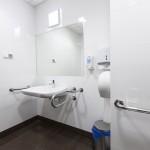Toaleta pacjentów.